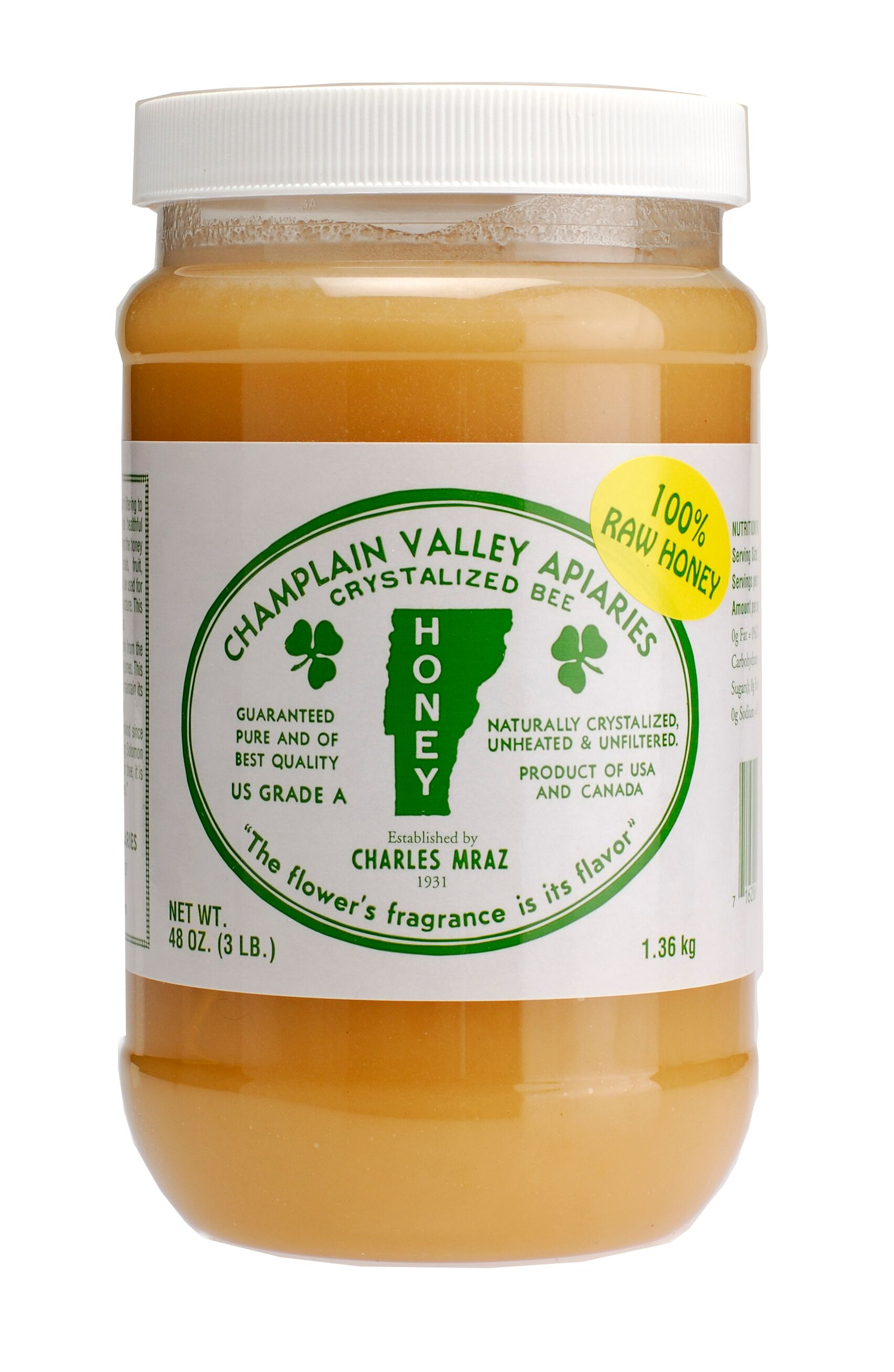 100 pure raw chunk honey comb in jar of raw honey 1 lb - HD1704×2614