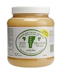 5 lb. plastic jar Raw Naturally Crystallized Honey