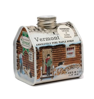 Breadloaf View Farm's Pure Vermont Amber Rich Maple Syrup - 1/2 pint