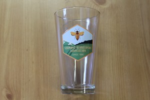 Vermont Beekeeper's Association Beer Glass